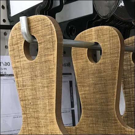 Vintage Wrapping Board Hook Hung