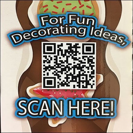 QR-Code Cake Decorating Ideas by Scan