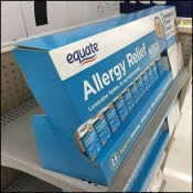 Equate Shelf-Top Gravity-Feed Allergy Relief