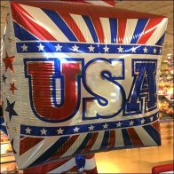 American Flag Patriotic Inflatable Merchandising