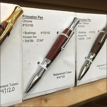 Woodcraft Lathe-Made Writing Instruments