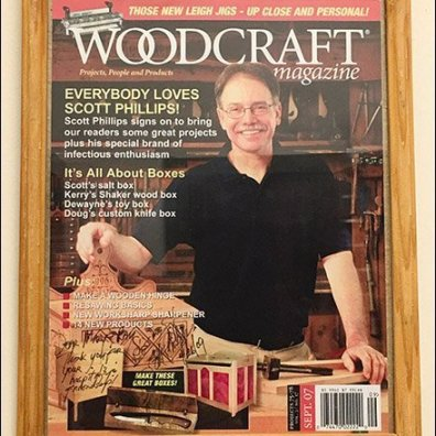 Ask A Woodcraft Man Engraved Wood Sign