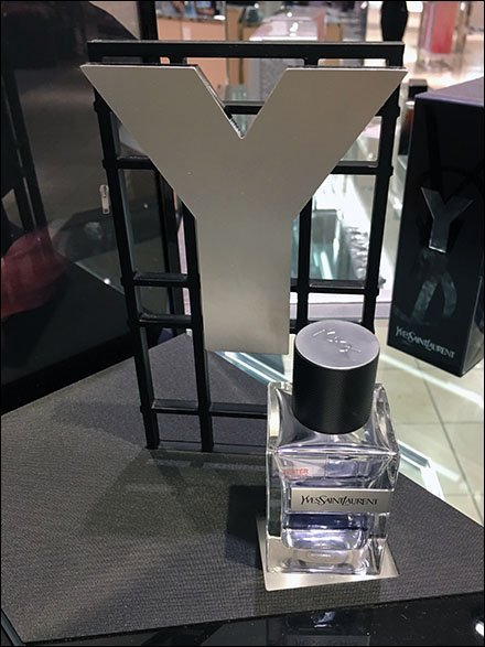 YSL Fragrance Display Dimensional