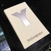 Sans-Serif YSL Fragrance Tester Card