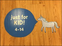 Just-For-Kids Floor-Graphic Breadcrumb-Trail