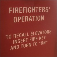 Elevator Emergency Operation Notice