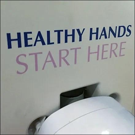 Healthy-Hands-Start-Here Hand Sanitizer