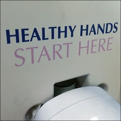 Healthy-Hands-Start-Here Hand Sanitizer