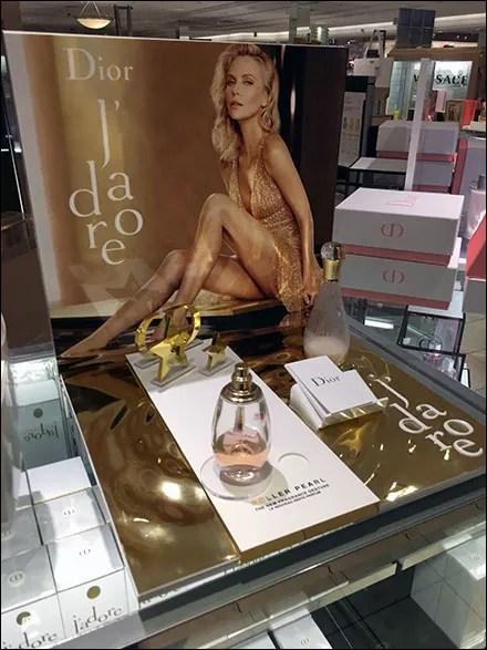 Dior J'adore Perfume Counter-Top Display