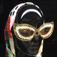 Dolce-&-Gabbana Sunglass Headform Modeling
