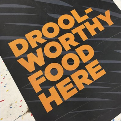 Drool-Worthy Pet-Food Floor Graphic