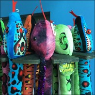 Hang-By-The-Neck Plush Toy Display