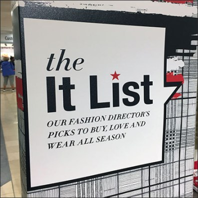It-List Girl's-Varsity Visual Merchandising