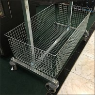 Basket-Equipped Hangrail Returns Cart
