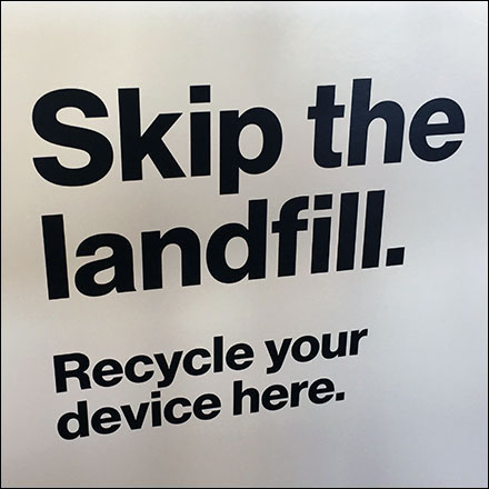 Skip-The-Landfill Device Recycling Made Simple