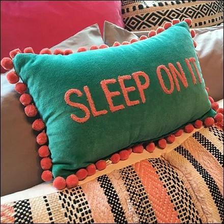Sleep-On-It Bed Visual Merchandising