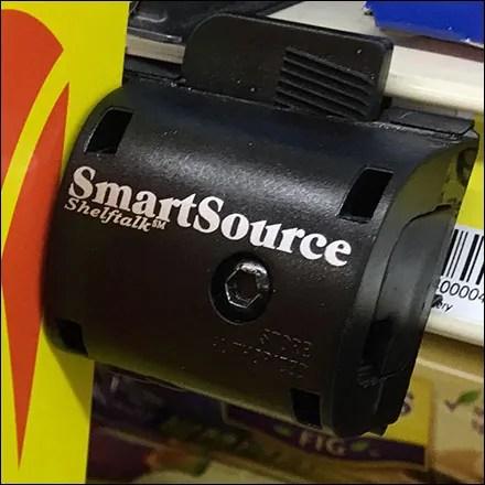 SmartSource ShelfTalk C-Channel Sign-Holder