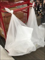 Target Stocking Cart Overload Saddlebags