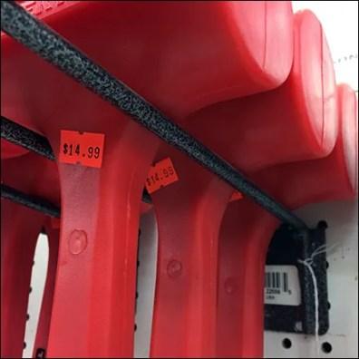 Tekton Deadblow Hammer Utility Hook Display