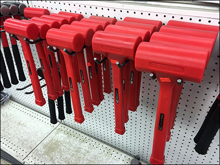 Tekton Deadblow Hammer Utility Hook Display