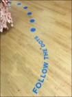 Kid's Floor Graphic Trail
