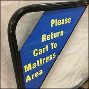Warehouse-Club Mattress Transport Cart