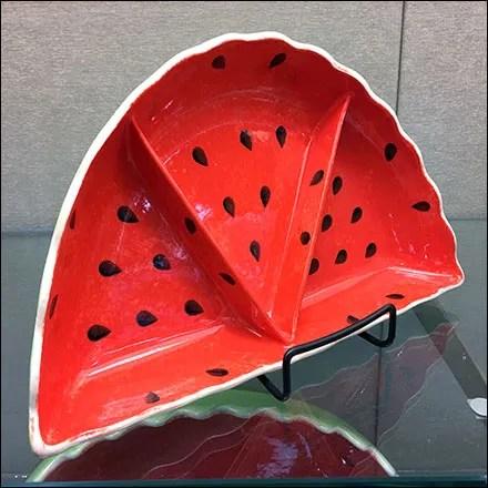 Watermelon Serving-Pieces Inline Display