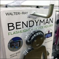 BendyMan Right-Angle Slatwall Display Hook