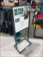 Dick's No-Pain-No-Gain Lifestyle Sell