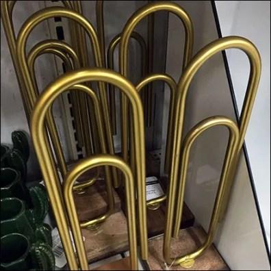 Giant Paper Clip Shelf-Edge Merchandising