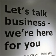 Let's-Talk-Business Expanded Services Wall