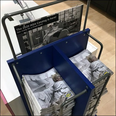 IKEA Mobile Catalog Stack Stand