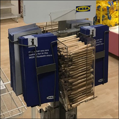 IKEA Paper-List-Pencil Takeaway Dispenser Main3
