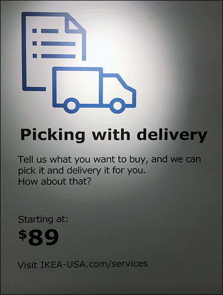 Stock Picking Plus Delivery Service