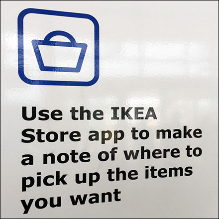 IKEA-App In-Store Merchandise Locator