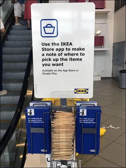 IKEA-App In-Store Merchandise Locator