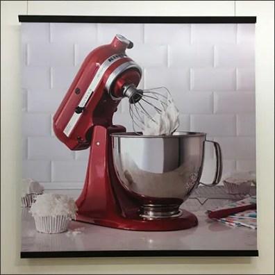 KitchenAid Mixer Still-Life Poster In-Store