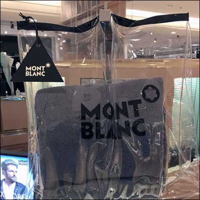Mont Blanc See-Through Purse Premium Display Aux