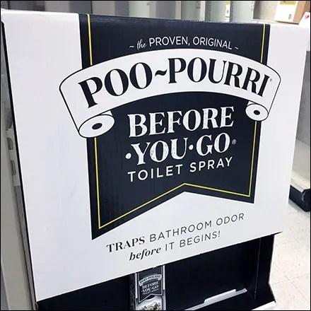 Poo-Pourri Toilet-Spray PowerWing Display