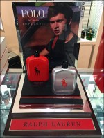 Ralph Lauren Polo Red Counter-Top Display