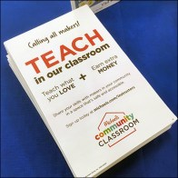 Teacher Recruiting Table-Top Takeaway