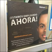 Walmart Now Hiring Hispanic Motif