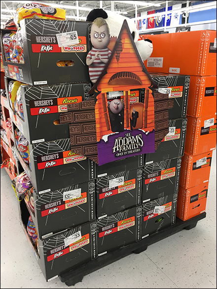 Addams Family Halloween-Candy Cross-Sell