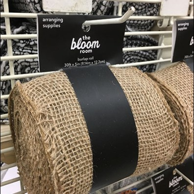 Burlap-Roll Back-Labeled PowerWing-Scan-Hooks Aux