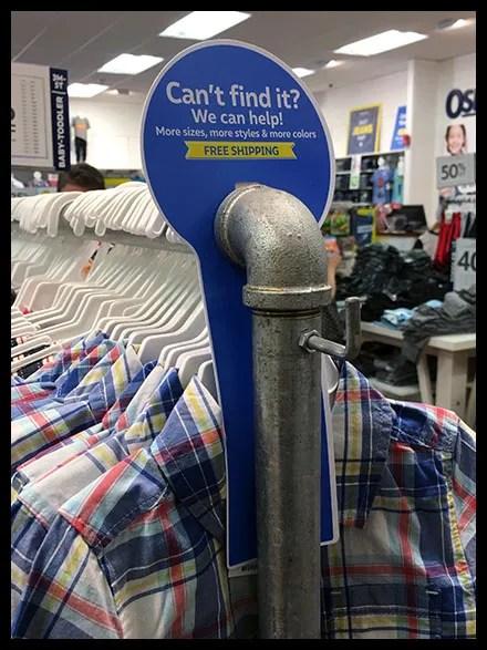 Can't-Find-It Die-Cut Door Hanger Sign