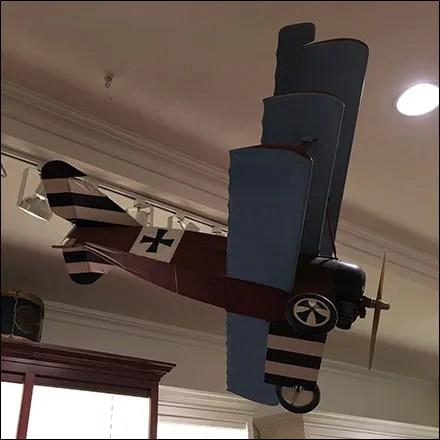 Carter's Fokker-Triplane Visual Merchandising Prop