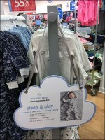Baby-Basics Rack-End Cloud Sign