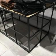 Grid Super-Structure Pedestal Table