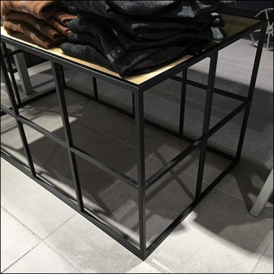 Grid Super-Structure Pedestal Table