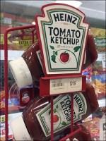 Heinz-Branded Cooler Wireform Rack